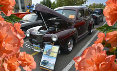 1941 Ford (swong95765) Tags: show old flowers classic ford car vehicle 1941