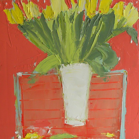 McWhirter, Alison 'Tulips against Tuscany Orange'