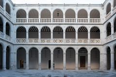 Patio Central (Ivan_Fle) Tags: spain sony edificio valladolid patio arcos lightroom nex6
