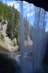 Behind Tamanawas Falls (Catgirrrl) Tags: water oregon hike april mounthood 2016 tamanawasfalls