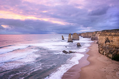 12 Apostles (jbovay) Tags: ocean longexposure travel sunset sky beach clouds march sand moody sony australia geography geology bluffs greatoceanroad twelveapostles hdr cloudscape 12apostles portcampbell mediumexposure 2016 vicoria oceanscape sonyalpha portcambellnationalpark sonya7 sel1018