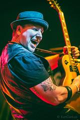 Jeff Noble of Klover Jane (KurtClark) Tags: 50mm guitar f14 yashica yashinon manuallens jeffnoble kloverjane tonyvsgarage samsungnx300