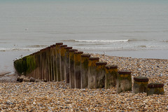 Eastbourne D5150147 (tony.rummery) Tags: sea england stilllife seascape beach unitedkingdom shingle olympus eastbourne gb southcoast groyne omd breakwater em10 mft microfourthirds