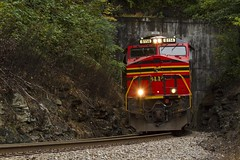 745 (THE Woodtick) Tags: garland westvirginia coal norfolksouthern es44ac heritageunit exnorfolkwestern
