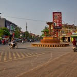 Roundabout in Siem Reap, Cambodia thumbnail