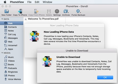 PhoneView Backup by Wesley Fryer, on Flickr
