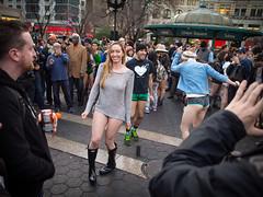 Pantless Sunday 13. (rockerlan) Tags: street urban subway square photography photo downtown pants manhattan no union sunday pantless lifestyles