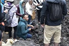 _DSC0632 (lnewman333) Tags: people dog latinamerica volcano highlands guatemala antigua marshmallows centralamerica pacaya lavarocks activevolcano roastingmarshmallows volcanpacaya