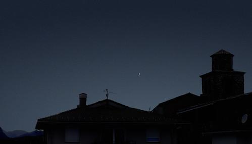 Venus i Mercuri 30:3:2009 A la Pobla de Lillet