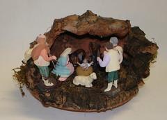 2648 (Parrocchia S. Rocco Recco) Tags: terracotta grotta presepe sughero