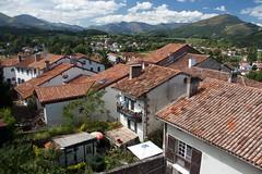 St.-Jean-Pied-de-Port (Adam Franco) Tags: mountains gardens architecture terracotta roofs balconies basque