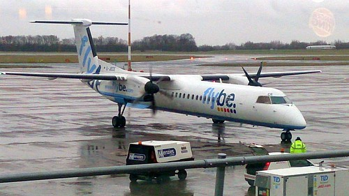 Bombardier DHC-8-402 Q400, FlyBe, G-JECE
