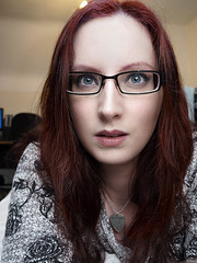 _C190007 (KristinaLilith) Tags: selfportrait glasses redhead specs redhair foureyes selfie