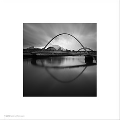 Millenium Bridge, Gateshead (Ian Bramham) Tags: building newcastle photo sage gateshead tynebridge milleniumbridge rivertyne ianbramham