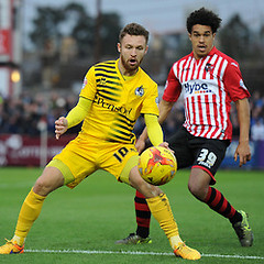 "Exeter Cityd v Bristol Rovers 281115 • <a style=""font-size:0.8em;"" href=""http://www.flickr.com/photos/137502421@N05/24147307246/"" target=""_blank"">View on Flickr</a>"