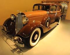 1933  Lincoln KB (D70) Tags: california usa 3 museum speed hp automobile mechanical drum head 150 lincoln brakes l sacramento manual kb 1933 v12 4500 lbs 448 7000 cuin