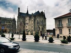 Episcopal Palace in Astorga (mmcclana24) Tags: castle spain europe gaudi caminodesantiago astorga
