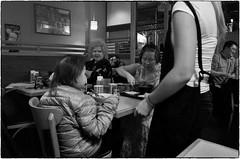 Hotaru, January 8, 2016 (Maggie Osterberg) Tags: california bw japanese restaurant blackwhite gr ricoh sanmateo silverefexpro2 183mmf28
