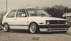 VW GOLF MK2 VR6 (JAYJOE.MEDIA) Tags: vw golf low turbo static mk2 lower rs bbs lowered slammed vr6 lowlife bagged airride bbswheels bbsrs superrs stanced bbssuperrs staance bbsgang