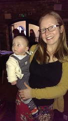 Katie McSherry our new JtoJ NE co-ordinator and baby Leo