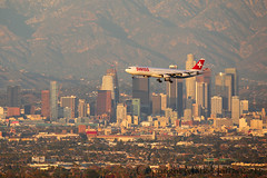 Swiss Airbus A340-313X HB-JMN (Mark Harris photography) Tags: plane canon swiss aircraft aviation airbus lax spotting a340 spotte