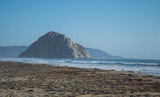 Morro Rock View - Morro Dunes Natural Preserve - San Luis Obispo County - California - 06 September 2015
