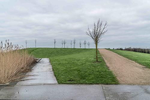 Wind Powered Public Park In Clongriffin Dublin [Father Collins Park]-110975