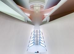 behold the world of tomorrow (yushimoto_02 [christian]) Tags: abstract museum architecture frankfurt interior architektur minimalism minimalistic frankfurtammain abstrakt hanshollein mmk minimalismus museummodernekunst