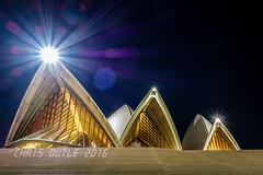 The Opera House Attacks (montusurf) Tags: light house opera long exposure sydney australia flare burst