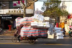Overload (oneworld72) Tags: shanghai tricycle overload ziess weagon sonya7rii batis25mmf2