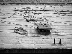 The Flow (Doug Knisely) Tags: roof rooftop beijing cables wires olmpus 40150r omdem5markii directorsapartment
