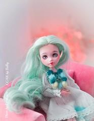 Mint_Laura-45 (lucylacri) Tags: monster high doll sweet ooak mint vanilla mh mattel repaint reroot draculaura