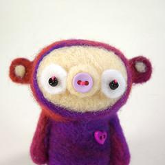 Weldon :o) (Kit Lane) Tags: wool felted toy toys character felt kawaii ursa kitlane