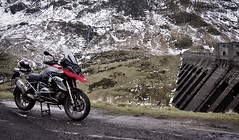 BMW R1200GS @ Lawers Dam (BrianReid) Tags: lumix scotland raw dam tay wc bmw loch lc kenmore gs lawers motorrad r1200gs r1200 gx1