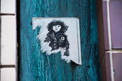 Helsinki, Finland 2015 (Katerina Kubatina | www.kubatina.com) Tags: urban contrast finland helsinki sticker stickerart highcontrast urbanlife streetsticker streetstickers stickerbomb   stickerbombing    stickerbombed  streetstickerart