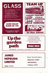 Motherwell vs Airdrieonians - 1979 - Page 15 (The Sky Strikers) Tags: park football scottish first lucky fir guide division league motherwell programme airdrie airdrieonians