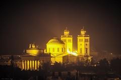 Venite Adoremus Dominum (Laszlo Horvath 800k+ views tx :)) Tags: church night zeiss lights nikon hungary eger nikond7100 carlzeisssonnarf4135mm