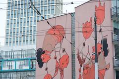 DSC_8510 (AperturePaul) Tags: netherlands architecture skyscraper painting rotterdam nikon d600 southholland firstrotterdam