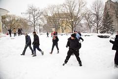 2016 01 23 - 5851 - DC - Blizzard (thisisbossi) Tags: usa snow washingtondc dc nw unitedstates northwest dupontcircle policeofficers blizzards parkpolice uspp communitypolicing snowballfights