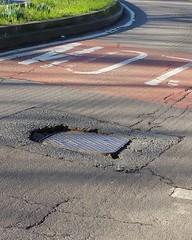 IMG_20160128_215640 (Carol B London) Tags: road tarmac roadworks cobblestones e1 stepney londone1 towerhamlets stepneygreen eyesores lbth