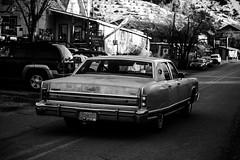 IMG_9475 (Neglekt Photography) Tags: madrid blackandwhite newmexico southwest cars monochrome canon outdoors desert lincoln nm bnw landofenchantment rebelt3 canonrebelt3