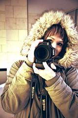 Hola, Quetal? (cad.coco) Tags: camera portrait paris france me frozen photo nikon snapshot streetphotography february tourisme selfie instantann fondationlouisvuitton
