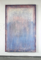 Bild_1786_blurred_rosa_blue_190_125_4_cm_acrylic_on_canvas_2016_studioview1 (ART_HETART) Tags: abstract art texture modern painting contemporary hetzel