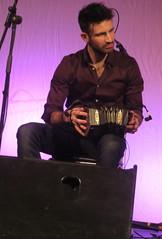 Talisk (2016) 03 - Mohsen Amini (KM's Live Music shots) Tags: greatbritain folkmusic concertina celticconnections irishfolk angloconcertina scottishfolk talisk standrewsinthesquare mohsenamini
