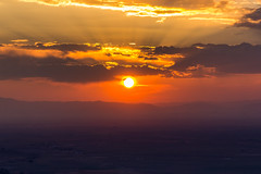 corona sunset (andy_8357) Tags: red sun mountains tree beautiful silhouette forest season fire interesting san colorado juan smoke sony beam ridge southern corona valley luis serene unusual smoky sunbeam impressive crestone sunray blazing nex mirrorless a6000 sel55210 ilce6000 ilcenex