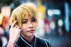 Justine (Jon Siegel) Tags: portrait fashion 50mm cool nikon singapore cosplay bokeh style depthoffield rings singer blonde 12 nikkor kaiju ais stylish singaporean d810 nikkor50mmf12ais kaiju