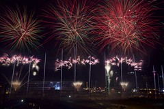Celebrate (John Andersen (JPAndersen images)) Tags: night firework colourful calgarystampede