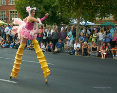 Adelaide Fringe Parade (Valley Imagery) Tags: colour art festival night vibrant south australia fringe parade adelaide performers 2016
