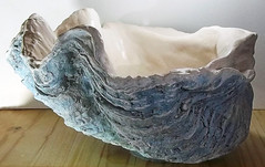 Giant Blue Clam Shell 10 (LittleGems AR) Tags: ocean blue sea sculpture sun beach home giant bathroom shower aquarium soap sand bath hand sink natural contemporary unique decorative aquamarine shell craft style toilet towel clam basin special clean shampoo taps wash seashell pearl nautical reef decor spa gems luxury opulent gem fossils clamshell mollusks cloakroom bespoke tridacna sculpt crafted gigas facetowel