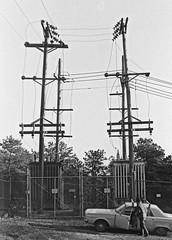 It Powered Pilgrim State Hospital (en tee gee) Tags: old transformer substation 13kv lilco 4kv